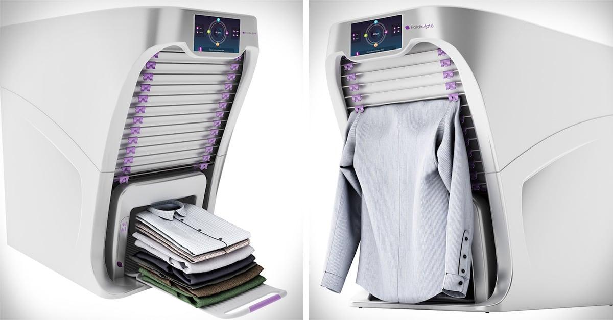 Gadget para doblar ropa