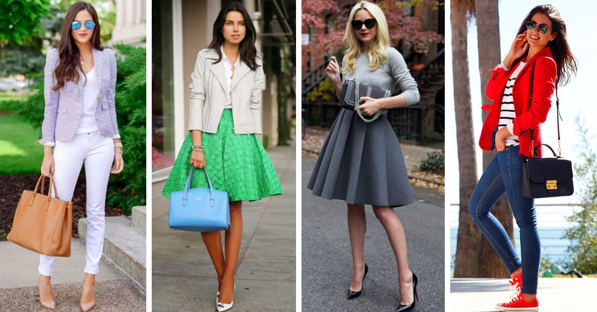 Estos son 20 ideas de outfits que puedes usar mientras vas al trabajo