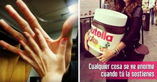 situaciones chicas con manos pequeñas