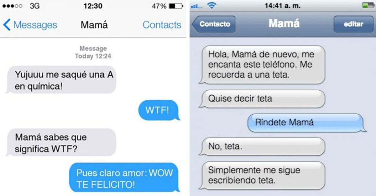 Mensajes De Texto Entre Padres E Hijos Que Te Harán Reír Hasta Llorar