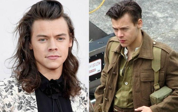 hombre de cabello largo cambio de look cabello corto