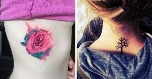 Estas son las partes del cuerpo donde los tatuajes cambian menos con la edad