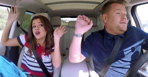 Selena Gómez en Carpool Karaoke