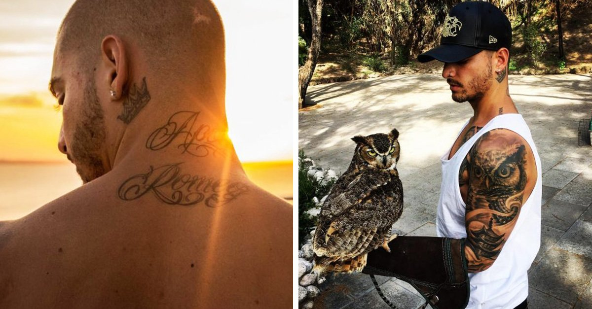 El significado de los tatuajes de Maluma