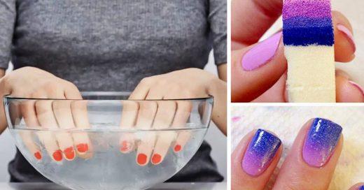 Trucos para un manicure perfecto