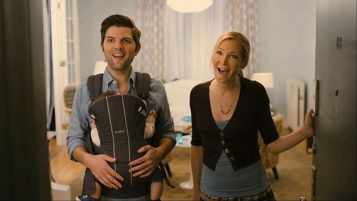 pareja con bebés