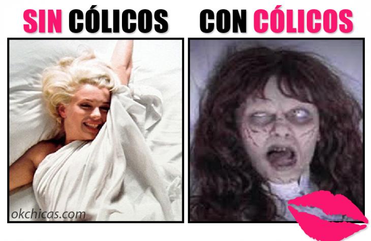 Meme de cólicos.