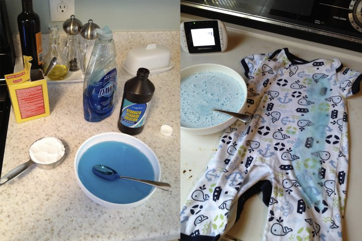 Detergente especial para bebés