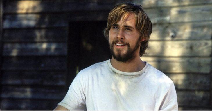 Ryan Gosling en el papel de Noah de la película Diario de una Pasión
