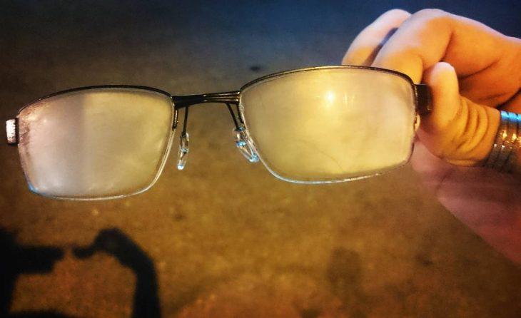 lentes empañados