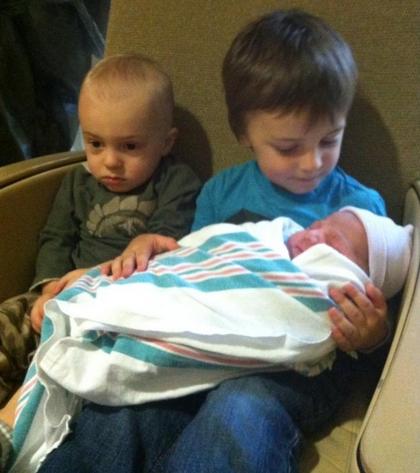 hermanos pequeños