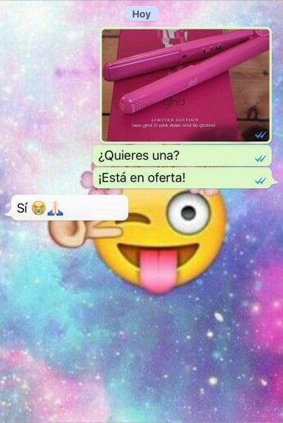 captura de pantalla de conversación de whatsapp