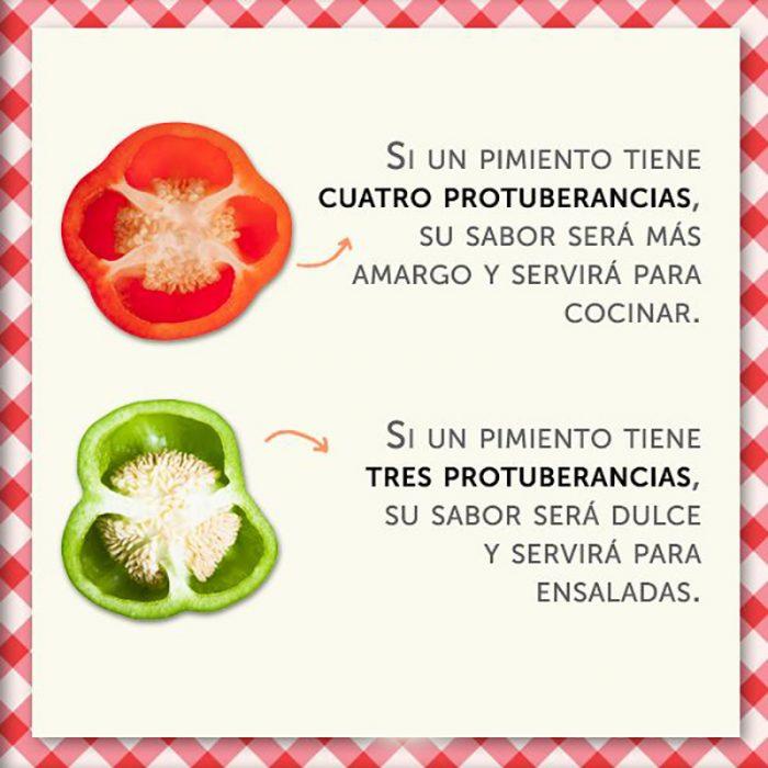 ilustración de pimiento rojo y pimiento verde