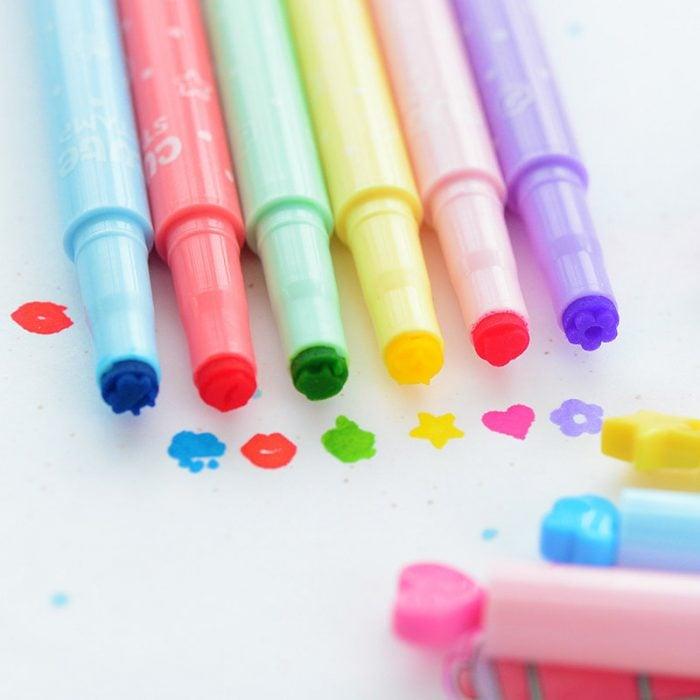 sellitos en forma de lápiz