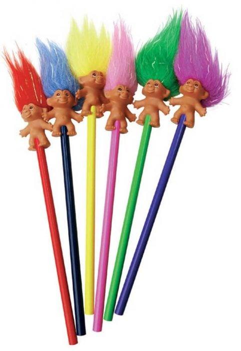 plumas de troll