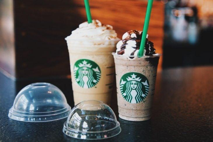 Frappuccino de canela crujiente