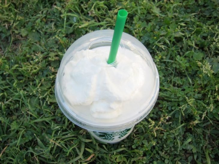 The Teddy Graham frappuccino