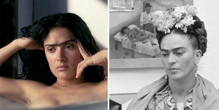 Salma Hayek como Frida Kahlo