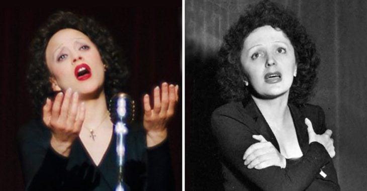 Marion Cotillard como Edith Piaf
