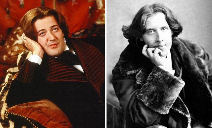 Stephen Fry como Oscar Wilde