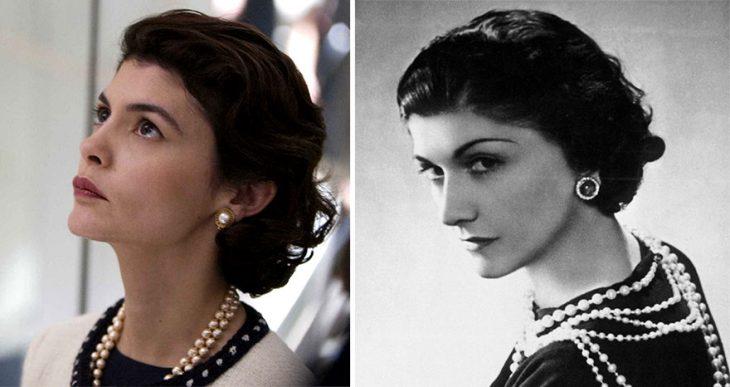 Audrey Tautou como Coco Chanel