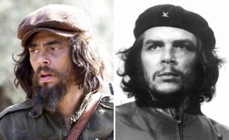 """Benicio del Toro como Ernesto """"Ché"""" Guevara"""