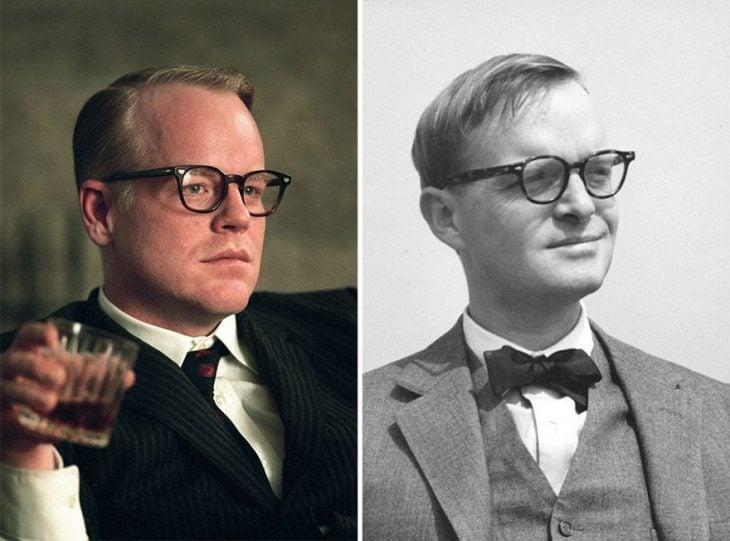 Philip Seymour como Truman Capote