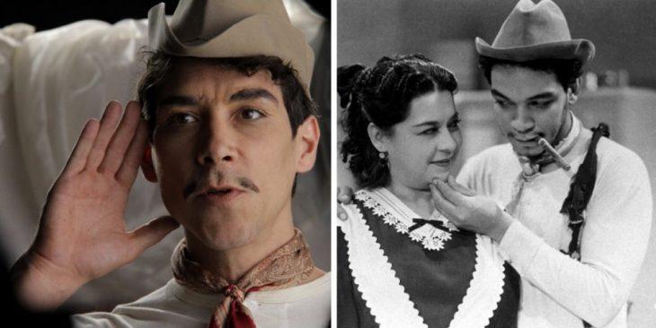 Óscar Jaenada como Mario Moreno