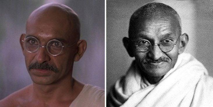 Ben Kingsley como Mohandas Gandhi