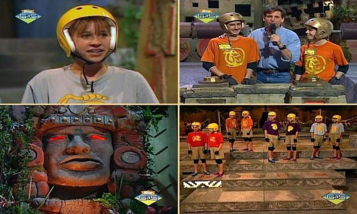 niños jugando en concurso de television leyenda del tesoro
