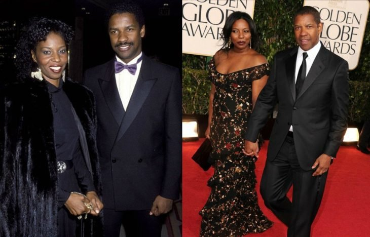 pareja de hombre negro y mujer en alfombra roja