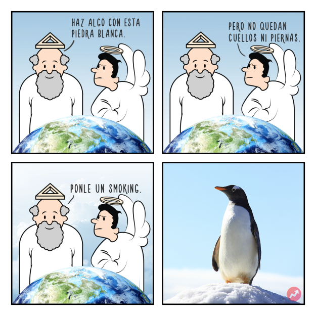 Cómics Dios creó a los pingüinos