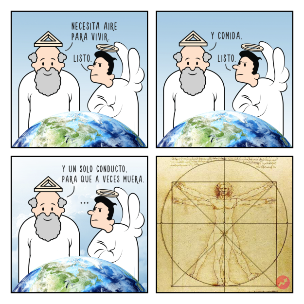 Cómics creación del hombre