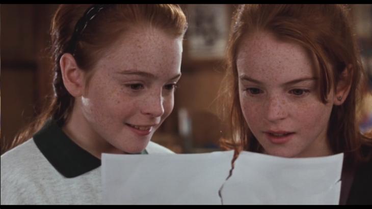 Imagen de la película Juego de gemelas.