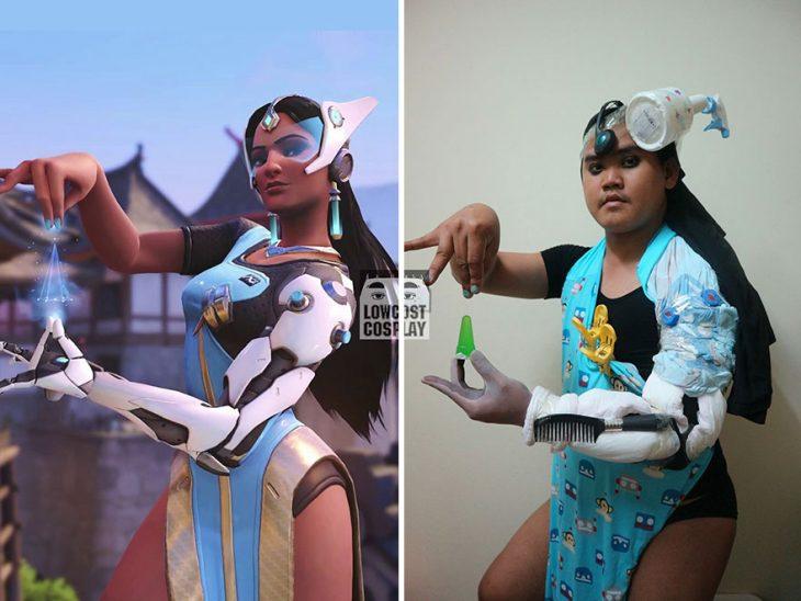 cosplay tailandés disfrazado