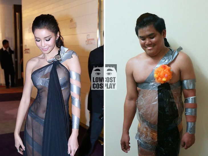 cosplay tailandés disfrazado mujer