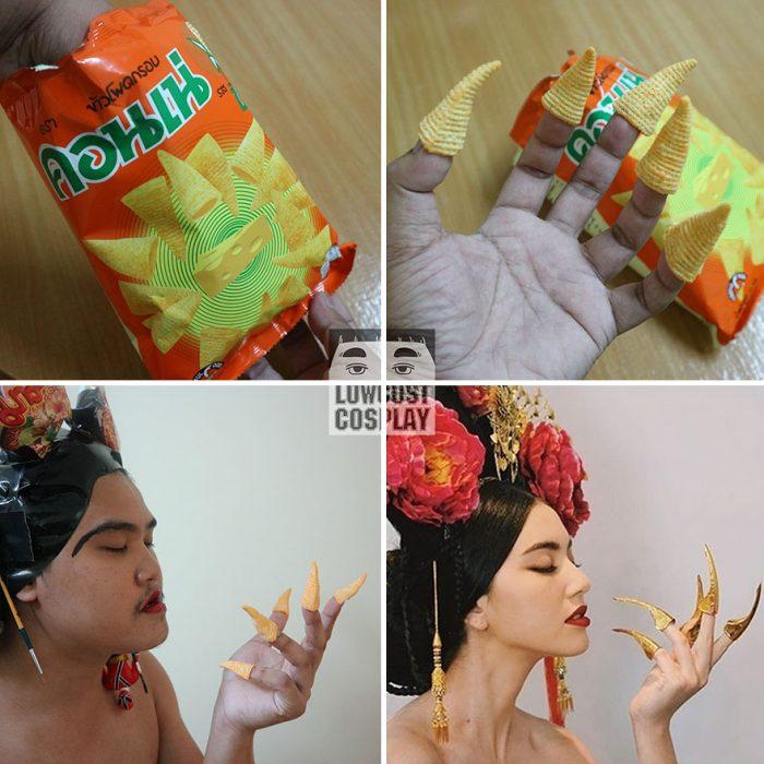 cosplay tailandés disfrazado de mujer