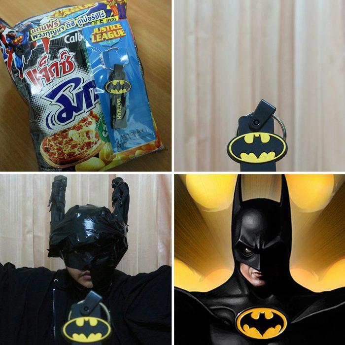 cosplay tailandés disfrazado de batman