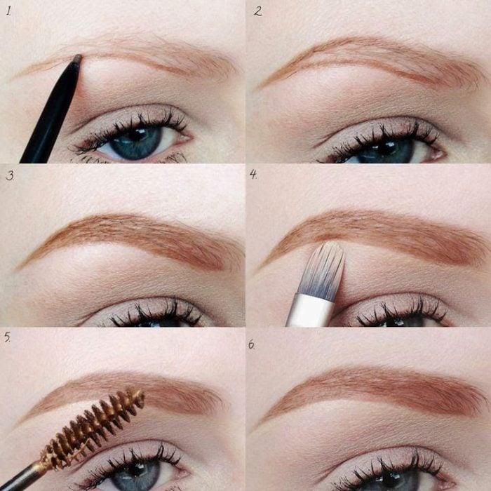Tutorial de como maquillar las cejas