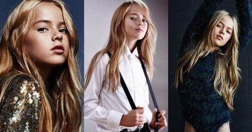 """Kristina Pimenova, """"la niña más bonita del mundo"""" sigue disfrutando de la fama y de las pasarela"""