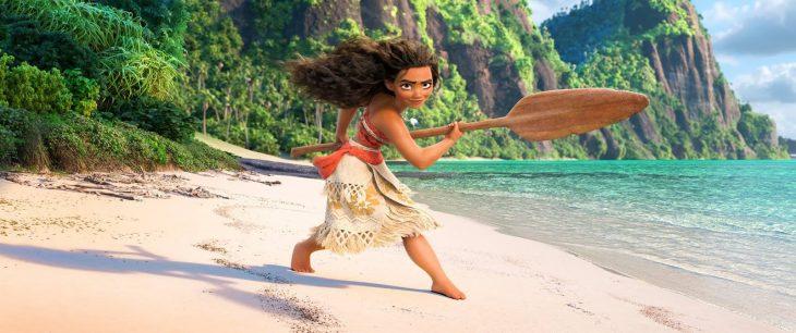 Moana de la nueva película de Disney que no tendrá un príncipe
