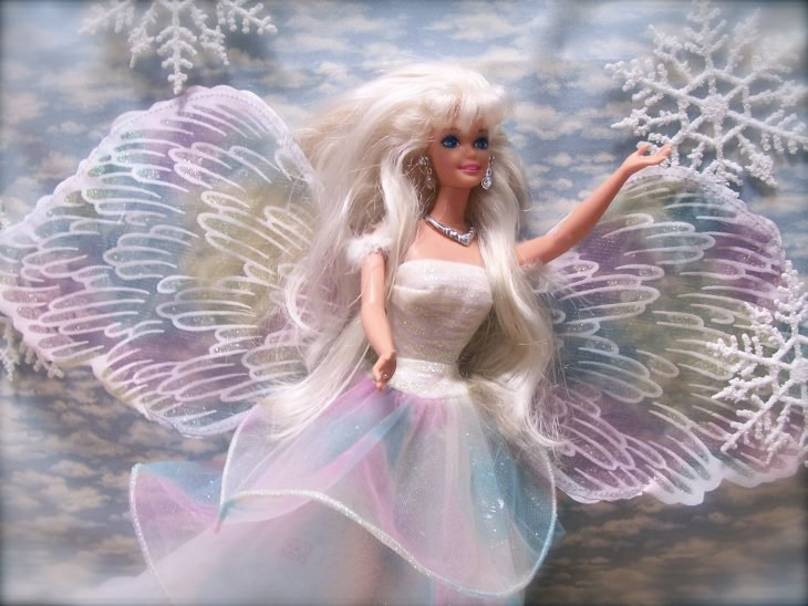 Barbie alas de angel