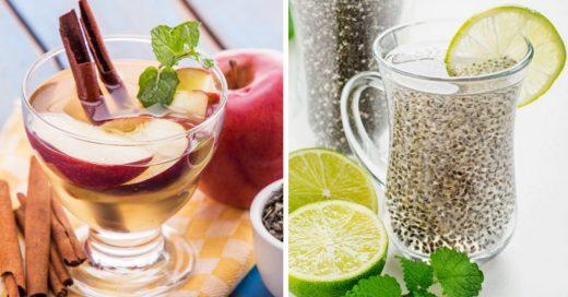 Nuevas formas de beber agua para desintoxicar tu cuerpo