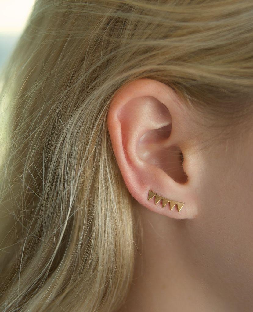 20 Atrevidos Y Lindos Piercings En La Oreja Que Querrás Usar
