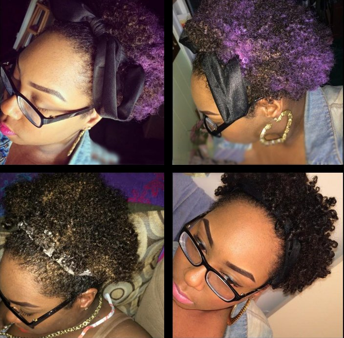Chica negra tomándose selfies