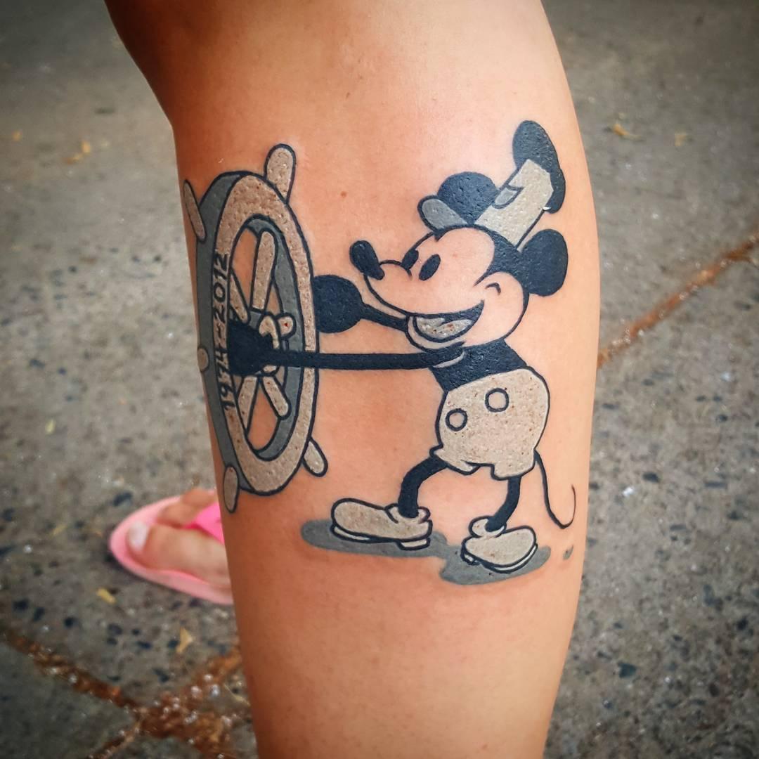 Tatuajes Que Hasta Walt Disney Amaría Te Encantarán