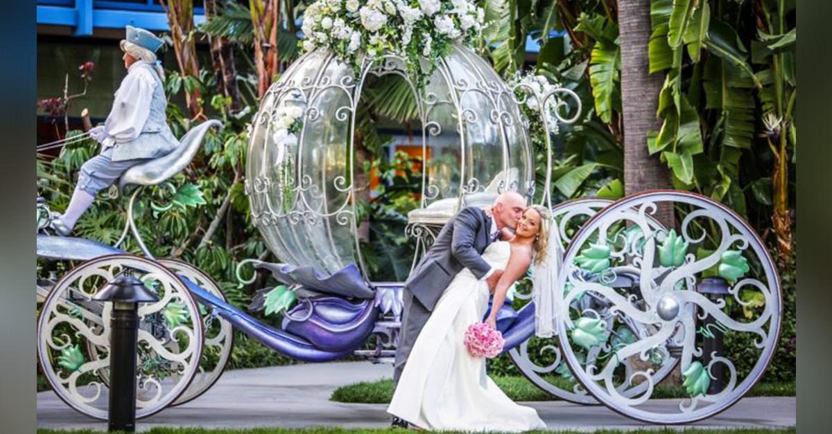 mágicas fotos de bodas inspiradas en Disney