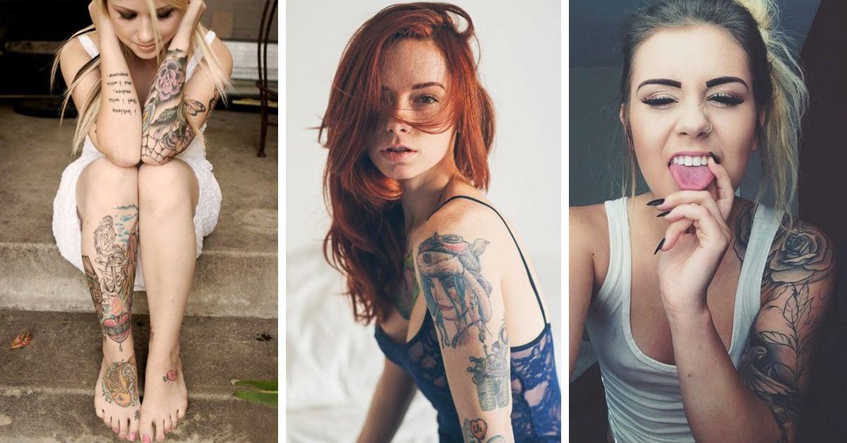 Chicas que demuestran que los tatuajes también están hechos para las mujeres