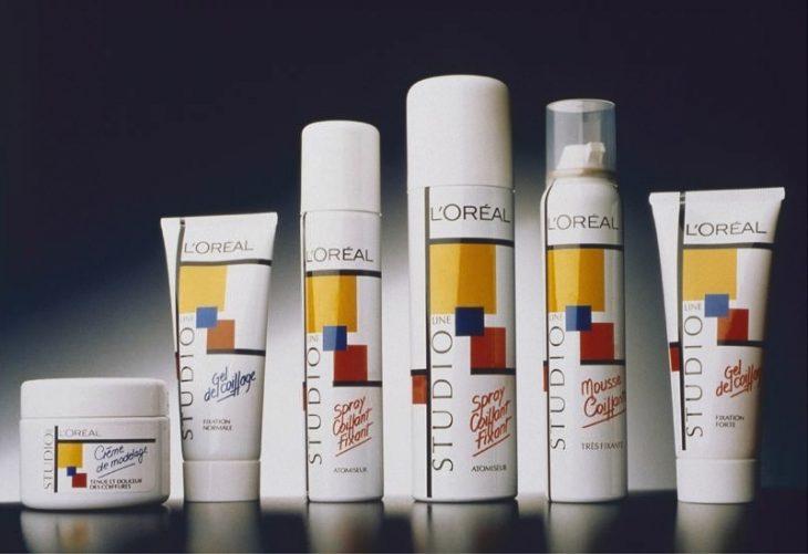 Línea de productos de belleza de Loreal.