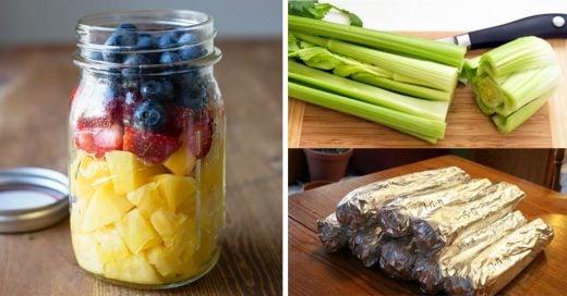 Maneras con las que puede hacer que tus alimentos duren lo máximo posible